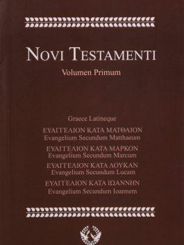 Novi Testamenti Volumen Primum
