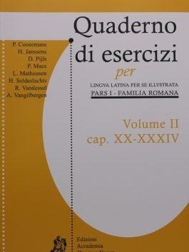 QUADERNO D'ESERCIZI II (CAP. XIX-XXIV)